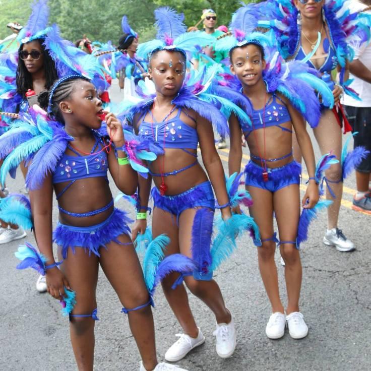 Young Masqueraders in Saga Ting