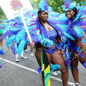 Fazer Daijah reppin' Jamaica, too!
